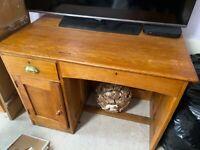 old antique pine desk