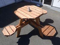 Garden picnic table/bench
