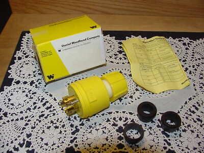 Daniel Woodhead Company Turnex 20a 120208 Vac Four Wire New In Box