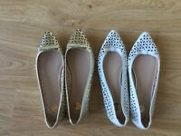 ** Ladies River Island Shoes Size 4 **