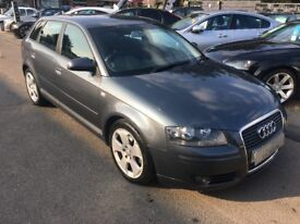 2004/54 AUDI A3 2.0 TDI SPORTBACK 5DR GREY,GREAT ECONOMY,STUNNING LOOKS,DRIVES WELL