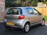 Toyota Yaris 1.0 VVT-i 5dr Left Hand Drive/Low Mileage/MOT/1Owner/UK Registered/Economical/LHD/Clean