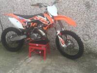 2015 KTM 150sx LADY OWNER VERY LOW USE