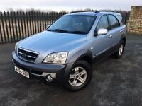 2004 04 KIA SORENTO 2.5 CRDI XS *DIESEL* 4x4 - MAY 2017 M.O.T - GOOD EXAMPLE!