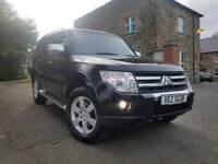 Sep 2007 Mitsubishi Shogun Warrior 3.2 DI-D LWB Automatic 7 Seater 4x4, FMSH! Full MOT! LOW MILES!!