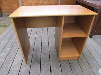 Wooden desk - must go