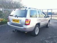 For sale JEEP GRAND CHEEROKE 2.7CRD DIESEL AUTO 4X4 TOW BAR PX AVAILABLE