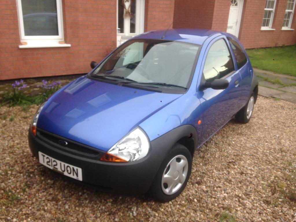 1999 ford ka 1 3 injection very low mileage 675 o n o in syston leicestershire gumtree. Black Bedroom Furniture Sets. Home Design Ideas