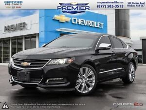 2016 Chevrolet Impala 2LZ ONE OWNER AND LOADED WITH LEATHER NAVI