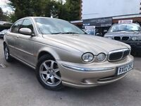 Jaguar X-Type 2.1 V6 Automatic Full Service History Low Mileage 3 Months Warranty Cream Leather