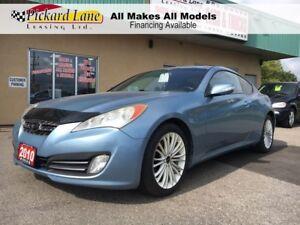2010 Hyundai Genesis Coupe 2.0T $127.82 BI WEEKLY! $0 DOWN! CERT