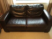Two seater sofa ok condition £30 collection only
