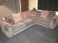 large corner sofa good condition