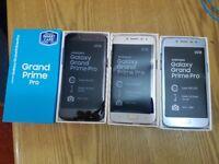 Samsung GRAND PRIME PRO 2018 16GB 4G lte Dual Sim Unlocked smartphone