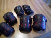 SFR Triple Pad Set – Knee/Elbow/Wrist for Skate Board/Scooter, etc Kids