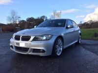 2011 BMW 3 SERIES 3.0 330D SILVER M SPORT 4DR AUTO DIESEL E90 **CHEAPEST IN UK**
