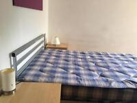 Double Bed Room in Modern Flat close to University and City Centre