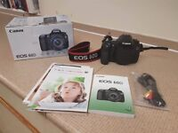For sale Canon SLR EOS 60D BODY ONLY