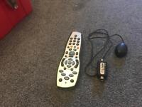 Sky remote and magic eye