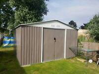 Metal shed 10 x 11
