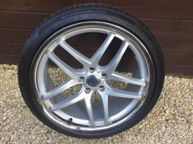 Alloy wheels 19 in Ford 5 stud