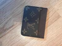 LOUIS VUITTON CARD HOLDER - BRAND NEW - REAL LEATHER