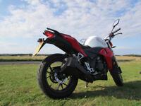 Motorcycle WK 250 SP (copy of Kawasaki)
