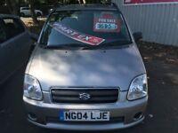 \\\\ 04 SUZUKI WAGON R GL ,,, CHEAP CAR ,, 10 MTH MOT ONLY £399