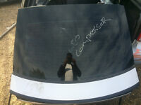MERCEDES C CLASS W203 COUPE REAR BOOT LID FOR SALE SILVER CALL PARTS THANKS