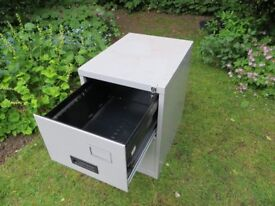 Secure 2-Drawer Metal Filing Cabinet with 2 keys