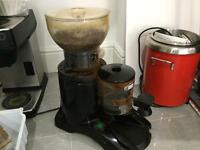 Commercial coffee grinder Iberital and tamper drawer for cafe/coffee shop/restaurant etc, NG4