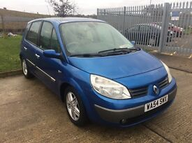 2004 Renault Scenic 2.0 MOT January 2018, Air Con
