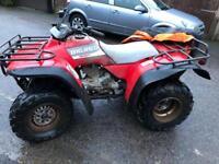 Honda big red 300 quad with v5