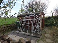 europa manor greenhouse 10 x 8