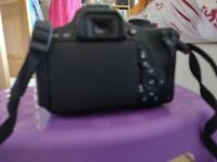 Canon DSLR 600D camera
