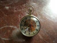 Skeleton Paperweight Clock