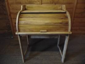 Solid pine childs row top writing desk
