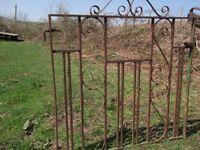 VINTAGE GARDEN GATE ** art deco style **