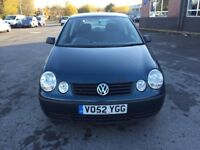 2003 VOLKSWAGEN POLO 1.2CC WITH MOT DRIVES GREAT