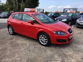 Late 2009 Seat Leon 1.9 TDI Diesel SE **Full Service History** (FINANCE AND WARRANTY) (golf,a3,astra