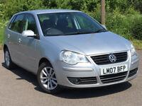 (52000 Miles)-- Volkswagen Polo 1.2 Match - Part Exchange OK -- Drives Good