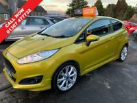 FORD FIESTA 1.0 ZETEC S 3d 124 BHP (yellow) 2013