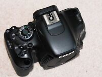 Canon 600D 18.0MP Digital SLR Camera with EF-S 18-55mm IS II Kit lens + Extras MINT