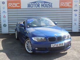 BMW 120d M (SPORT) FREE MOT'S AS LONG AS YOU OWN THE CAR!!! (blue) 2012