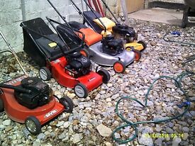 lawnmowers serviced £50 each