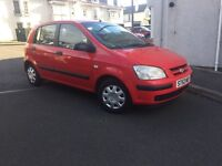 IDEAL CAR FOR NEW DRIVERS 52 PLATE HYUNDAI GETZ 1.1 PETROL --LOW MIL-- GOOD CONDITION FOR ONLT £495