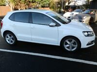 VW Polo 1.2 TSI Blue Motion SEL 5 Door Hatch white / 1 owner car / 27800 miles warranted/ 1ST Class!