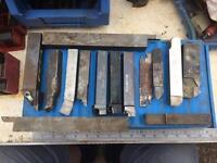 Lathe tooling