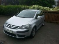 VW Golf Plus Diesel 5dr _ Excellent