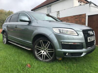 AUDI Q7 S LINE 3.0 TDI QUATTRO 7 SEATER DIESEL AUTOMATIC FULLY LOADED
